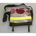 armybag groot stippen roze reflector